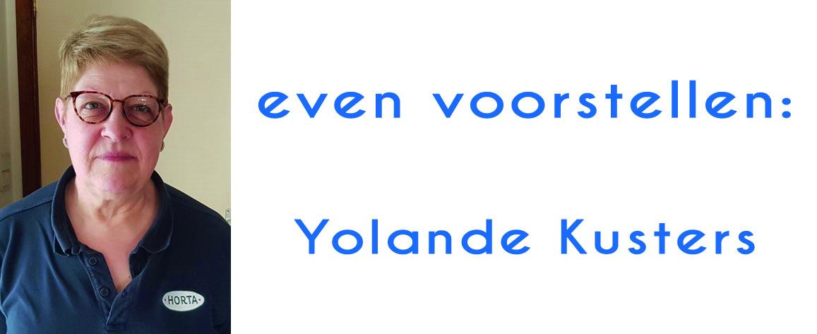 Yolande Kusters: respect en verdraagzaamheid