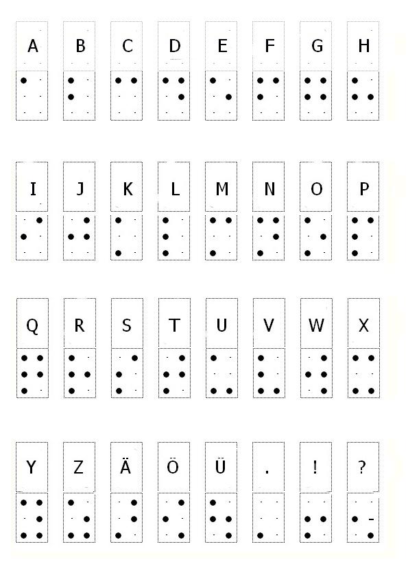 brailleschrift – dekenaat Genk